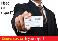 Demand Direct Mail Campaign Card